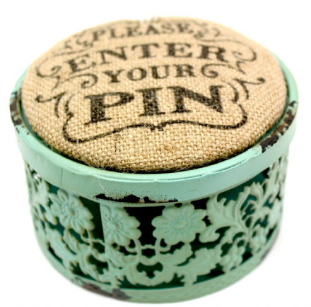 FRENCH STYLE PIN BOX